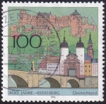 Stamps Europe - Germany -  800 años Heidelberg