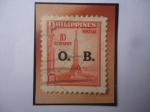 Stamps : Asia : Philippines :  Monumento al Revolucionario Andrés Bonifacio (1863-1897)- Del Artista:Guillermo Tolentino (1890-1976