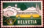 Stamps Europe - Switzerland -  Motivos.Correo alpino (Graubünden)