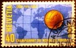 Stamps Europe - Switzerland -  Copa del mundo de futbol