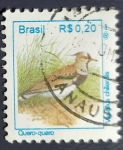 Stamps : America : Brazil :  Pajaros