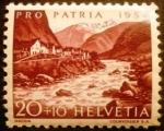 Stamps Europe - Switzerland -  Pro-patria. Maggia