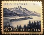 Stamps Europe - Switzerland -  Paisajes. Silser Lake