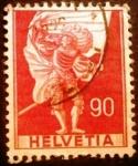 Stamps Europe - Switzerland -  Acontecimientos históricos. Standard Bearer