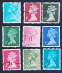 Stamps Europe - United Kingdom -  Isabel II Inglaterra