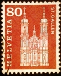 Stamps Europe - Switzerland -  Catedral de San Gallen