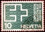 Stamps Europe - Switzerland -  Expo de Lausana