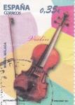 Stamps Spain -  INSTRUMENTOS MUSICALES. VIOLÍN(46)