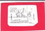 Stamps : Europe : Spain :  IV CENTENARIO DEL FALLECIMIENTO DE MIGUEL DE CERVANTES(46)