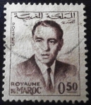 Stamps Morocco -  Rey Hassan II