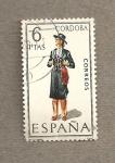 Sellos de Europa - España -  Trajes regionales, Córdoba