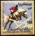 Stamps Morocco -  Concurso Internacional Hípico de Salto