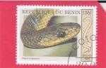 Stamps : Asia : Benin :  serpiente