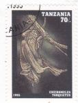 Stamps : Africa : Tanzania :  MURCIELAGO