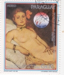 Stamps Paraguay -  Edouard Manet - Olympia (1863)