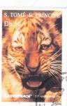 Stamps : Africa : São_Tomé_and_Príncipe :   25 ANIVERSARIO GREENPEACE