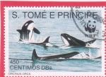 Stamps : Africa : São_Tomé_and_Príncipe :  ORCAS