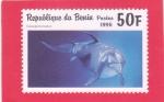 Stamps : Africa : Benin :  DELFIN