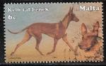 Stamps : Europe : Malta :  Canis lupus familiaris