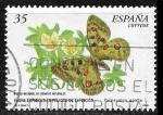 Stamps : Europe : Spain :  Parnassius apollo
