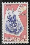 Stamps : Africa : Burkina_Faso :  Mascaras - Biche