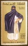 Stamps Morocco -  Trajes Típicos. Msouffa