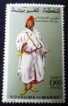 Stamps Africa - Morocco -  Trajes típicos. Mokhazni