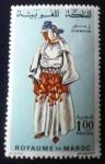 Stamps Africa - Morocco -  Trajes típicos. Zemmom