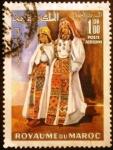 Stamps Africa - Morocco -  Trajes típicos. Aďt Ouaouzguit