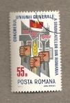 Sellos de Europa - Rumania -  Congreso de la Unión de Sindicatos