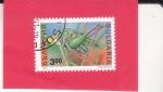 Stamps : Europe : Bulgaria :  Tettigonia viridissima