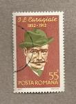 Stamps Romania -  J.L. Caragiale, escritor