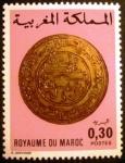 Stamps Morocco -  Monedas antiguas. Gold Mohur