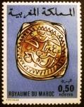 Stamps Morocco -  Monedas antiguas. Rabat Silver Coin 1774/5