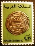 Stamps Morocco -  Monedas antiguas. Silver Dinar