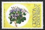 Stamps : America : Grenada :  Flores - Lignum Vitae