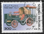Stamps : Africa : Somalia :  Coches antiguos - La Marcelle 1878