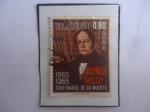 Sellos del Mundo : America : Venezuela : Andrés Bello (1781-1865) Político, Poeta, Escritor - Centenario de su Muerte (1865-1965)