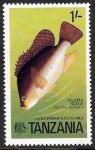 Stamps : Africa : Tanzania :  fauna