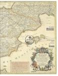 Stamps Europe - Spain -  Edif XXXX - PD 300 Aniversario del Primer Mapa Postal de España
