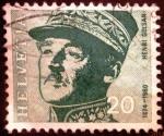 Stamps Switzerland -  General Henri Guisan
