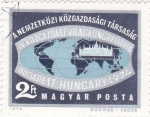 Stamps : Europe : Hungary :  MAPA MUNDIAL