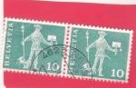 Stamps : Europe : Switzerland :  CARTERO