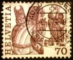 Stamps Switzerland -  Folclore. Processione storiche, Mendrisio