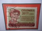 Stamps Colombia -  Eleanor Roosevelt (1884-1962)-XV Aniv.de la Declaración de los Derechos Humanos.