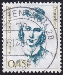 Stamps Germany -  Anette von Droste-Hülshoff