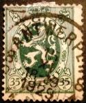 Stamps Belgium -  León Heráldico
