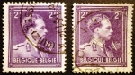 Stamps Belgium -  Rey Leopoldo III