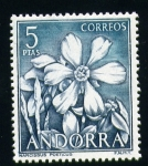 Stamps Europe - Andorra -  Narcissus Poeticus