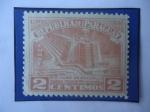 Stamps Paraguay -  Faro de Colón- Ciudad Trujillo republica Dominicana - UPU 1951